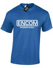 ENCOM MENS T SHIRT TRON RETRO COOL DESIGN 80'S GIFT PRESENT IDEA FUNNY TOP NEW