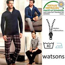 Herren Wellnessanzug watson Anzug Hausanzug 2-teilig Wellness Entspannung NEU