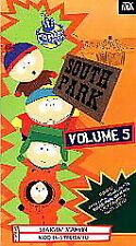South Park - Vol. 5 (VHS, 1998)