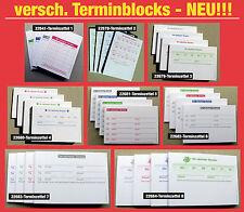 Terminblöcke Terminblock -Terminzettel Praxis Studio Ärzte Frisör, Maniküre -NEU