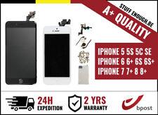 A+ ASSEMBLY LCD TOUCH SCREEN/SCHERM/ECRAN IPHONE 5 5S SE 5C 6 6 6S 7 8 & Plus