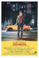 66016 Taxi Driver Movie Robert Niro, Jodie Foster Wall Print Poster CA