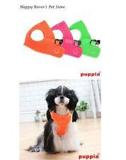 Puppia Choke Free Dog Harness - Pick Size - VEST - ORANGE NEON MESH