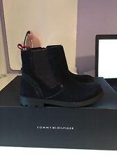 Tommy Hilfiger Mädchen Boots Winterstiefel Model Joachim 6B Schwarz Gr:Wählbar n