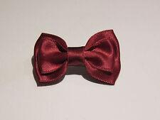 Petit noeud papillon en broche ou pour cheveux barrette élastique chouchou pince