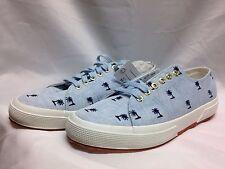 1dda6e88449b Superga 2750 LINEMBRW Lace Up Sneaker Blue Multi AUTHENTIC New w  Box