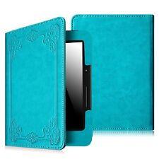 "2014 Model Kindle Voyage 6"" Slim Premium PU Leather Case Cover With Sleep/Wake"