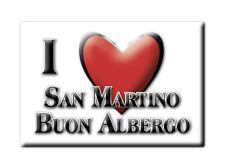 CALAMITA VENETO FRIDGE MAGNETE SOUVENIR I LOVE SAN MARTINO BUON ALBERGO (VR)