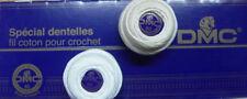 Filo speciale per merletti (spécial dentelle) art.19 DMC - bianco ed ecru