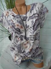 Zabaione Bluse Shirt Gr. S - XXL Kurzarm (744) NEU