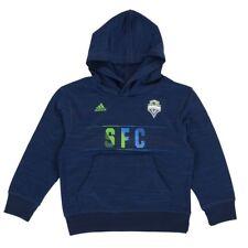 Seattle Sounders MLS Adidas Aeroband Ultimate Performance Pullover Hoodie Boys