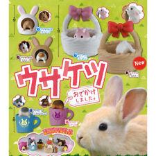 Usaketsu Odekake Shimasita Rabbit Hiding Mini Figure Collection