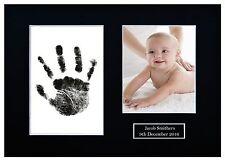 Personalised Newborn Hand Print Foot print Kit Baby Shower Gift Christening