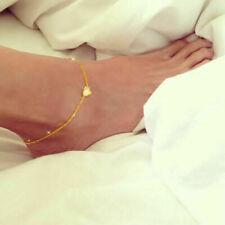 Sterling Silver Heart Foot Bracelet Feet Chain Ankle Bracelet Jewelry Chains