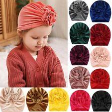 Newborn Headband Hat Cotton baby Infant Turban Knot Headband Head Wrap CL