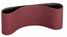 100mm x 610mm Aluminium oxide abrasive sanding belts. Price per 5