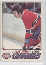 1977-78 O-Pee-Chee #151 Yvon Lambert Montreal Canadiens Hockey Card