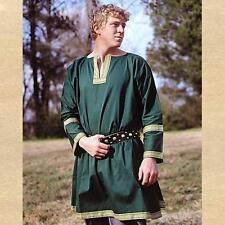 MEDIEVAL VIKING Norseman NORMAN Saxon VIKING MEN's TUNIC SHIRT New