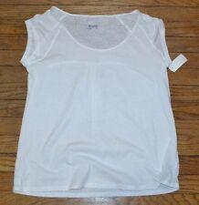 Columbia Sportswear Company White Short Sleeve Athletic Shirt MSRP $50.00