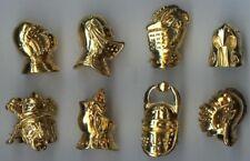 2002 LES HEAUMES CASQUES HEAUME EMBOUT CRAYON DE BOIS FEVE METAL 3D au CHOIX