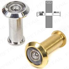 SECURITY Glass Door Viewer 180° WIDE ANGLE Spy/Peep Hole PVC/UPVC/Wood Spyhole