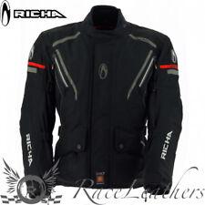 RICHA CYCLONE GTX NERO GORE-TEX MOTO IMPERMEABILE MOTOCICLETTA Giacca Turismo