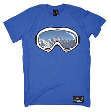 Camiseta Gafas De Esquí Snowboard Esquí esquís de montaña él ella Regalo Padres Día