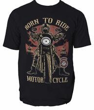 Born To Ride mens t shirt Biker Motorcycle Motorbike S-3XL