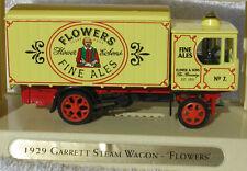 Matchbox 1/43 YGB15-M 1929 Garrett Steam Wagon - Flowers Beer