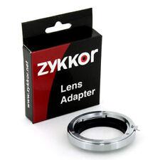 Leica Lens R to Olympus Evolt E Four Third 4/3 adapter for E-1 3 30 400 410 300