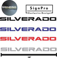 "New 2 Pair Chevrolet Powerstroke Decals Chevrolet Silverado Z71 18"" HD 1500 2500"