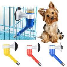 Cute Cat Pet Puppy Dog Hanging Bottle Water Drinking Dispenser Fountain Feeder L