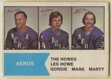 1974-75, O-PEE-CHEE, WHA, Hockey, #'s 1 - 66, UPick from list