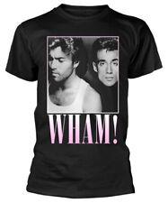 Wham! 'Edge Of Heaven' (Black) T-Shirt - NEW & OFFICIAL!