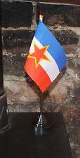 Yugoslavian Hand Table Flag Socialist Communist Socialism Communism Yugoslav bn