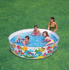 Kids Bambino Snapset Nuoto RIGIDA Paddling Garden play pool NUOVO