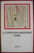 ANDERSEN, FIABE   1967 einaudi- i millenni