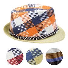 Trendiger Strohhut, Sommer-Herren-Hut , verschiedene Designs, Partyhut