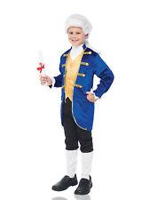High Society Aristocrat Boys Child Colonial President Costume