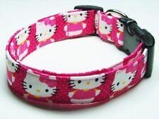 Charming Pink Hello Kitty Dog Collar