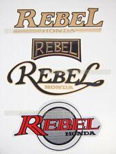 Motorcycle Fairing Tank Sticker Decal for Honda Rebel CMX CA 250 450 CA125 #33