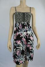 Crossroads Ladies Sleeveless Knit Bodice Dress sizes 8 14 Colour Multi Print