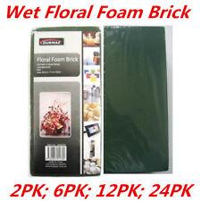 Wet Flower Floral Foam Brick Block Type Green Color Flower Decoration Display WM