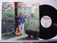 GIORGIO CONSOLINI disco LP 33 giri CHITARRA VAGABONDA VOL. 5  Made in ITALY