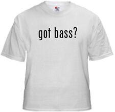 Bluegrass Bass T Shirt - got bass?  -  NEW
