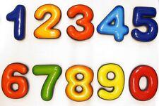 Posta Pro1 - Calamita magnete frigo Fridge Magnets Numbers NUMERI ARABI
