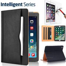 Apple iPad 2 3 4 Generation Flip Leather Case+Tempered Glass Film Smart Cover AU
