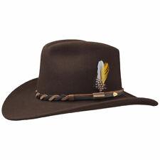 Chapeau STETSON HONDO marron Western by Stetson