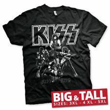 Licenza Ufficiale KISS-più caldo spettacolo del mondo 3XL, 4XL, 5XL T-shirt Uomo
