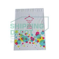 "1-2000 10x13 Bubble Shopping Designer Poly Mailer Boutique Bags 10"" x 13"""